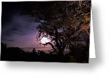 Framed Moon Greeting Card