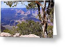 Framed View - Grand Canyon Greeting Card