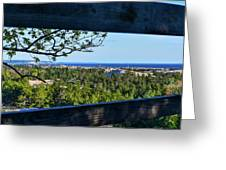 Framed View Greeting Card