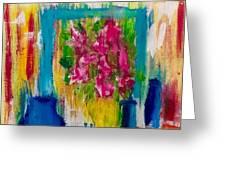 Framing Petals Greeting Card