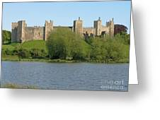 Framlingham Castle Greeting Card