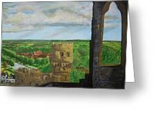 Framlingham Castle Greeting Card