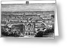 France, View Of Lyon, C1894 - To License For Professional Use Visit Granger.com Greeting Card
