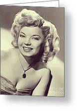 Frances Langford, Vintage Actress Greeting Card