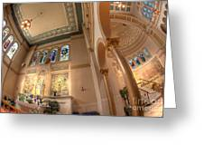 Franciscan Monastery Iv Greeting Card