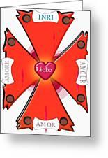 Franco-italian Hispanic German Cross Greeting Card
