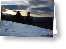 Franconia Notch State Park - Lincoln New Hampshire Usa Greeting Card