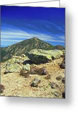 Franconia Ridge And Mount Lafayette Alpine Greeting Card