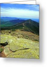 Franconia Ridge Trail Greeting Card