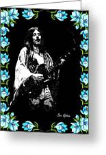 Frank Marino Of Mahogany Rush 4-14-78 Greeting Card