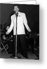 Frank Sinatra  Live On Stage 1939 Greeting Card