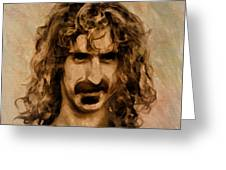 Frank Zappa Collection - 1 Greeting Card