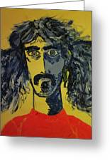 Frank Zappa Greeting Card