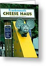 Frankenmuth Cheese Haus Mouse  Greeting Card