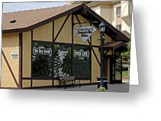 Frankenmuth Diamond And Gem Gallery Greeting Card