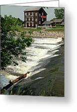 Frankenmuth Lager Mill II Greeting Card