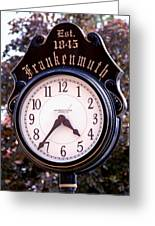 Frankenmuth Time Greeting Card