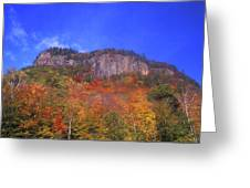 Frankenstein Cliffs Crawford Notch Greeting Card