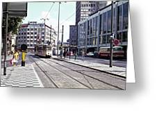 Frankfurt 1 Greeting Card