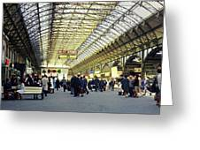 Frankfurt Hbf Greeting Card