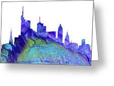 Frankfurt Skyline 3 Greeting Card