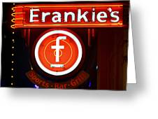 Frankie's Fort Worth Greeting Card