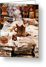 Frankincense And Myrrh Greeting Card
