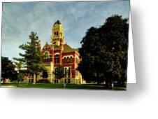 Franklin County Courthouse - Hampton Iowa Greeting Card