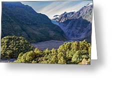 Franz Josef, New Zealand Greeting Card