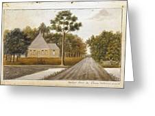Fraser  Charles   Meeting House In Prince Williams Parish From Untitled Sketchbook Greeting Card