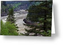 Fraser River British Columbia Greeting Card