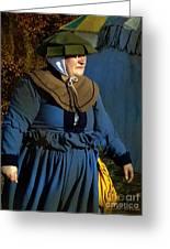 Frau Kitzler Goes Hunting Greeting Card
