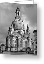 Frauenkirche Dresden - Church Of Our Lady Greeting Card