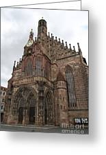 Frauenkirche - Nuremberg Greeting Card