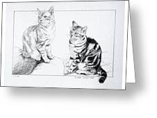 Fred And Ginger Greeting Card