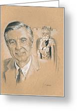 Fred Rogers Greeting Card