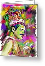Freddie Mercury, Bohemian Rhapsody Greeting Card