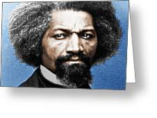 Frederick Douglass Painting In Color  Greeting Card