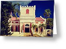 Frederick Lutheran Church In St. Thomas Greeting Card