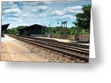 Fredericksburg Rail Station Greeting Card