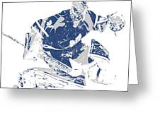 Frederik Andersen Toronto Maple Leafs Pixel Art 5 Mixed Media By Joe Hamilton