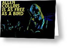Free As A Bird Greeting Card