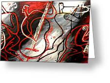 Free Jazz Greeting Card