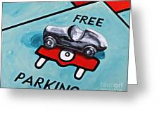 Free Parking Greeting Card