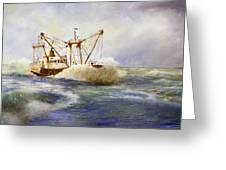 Free Spirit Of The Sea Greeting Card