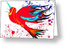 Free To Soar Higher Greeting Card