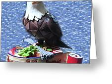 Freedom Eagle Greeting Card