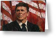 Freedom Fighter Greeting Card by Robert Scott