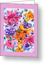 Freedom For Flowers Greeting Card