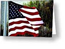 Freedom Greeting Card by Gerlinde Keating - Galleria GK Keating Associates Inc